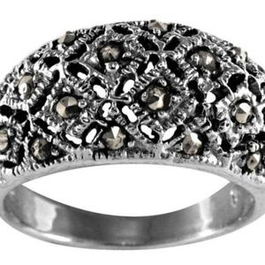 Jewelry - 👻MARCASITE RING STERLING SILVER 925